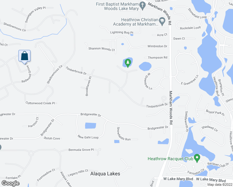 map of restaurants, bars, coffee shops, grocery stores, and more near 328 Mapleview Court in Lake Mary
