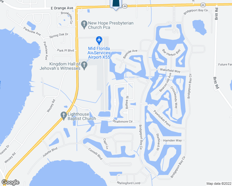 Lake Dora Florida Map.1744 Strathmore Circle Mount Dora Fl Walk Score