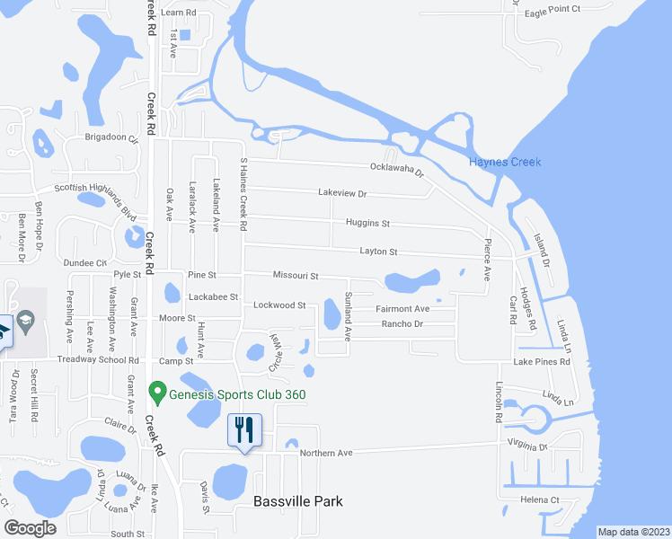 Map Of Leesburg Florida.11511 Missouri Street Leesburg Fl Walk Score