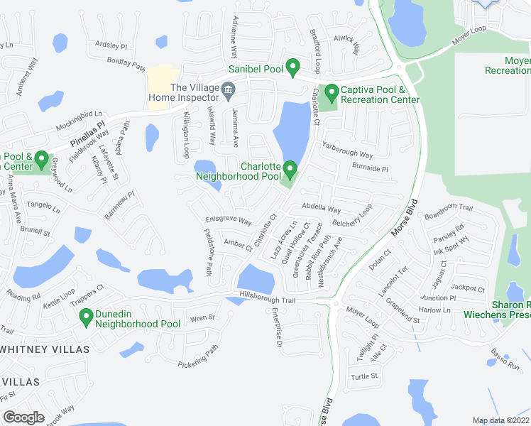 The Villages Florida Map.Enisgrove Way The Villages Fl Walk Score