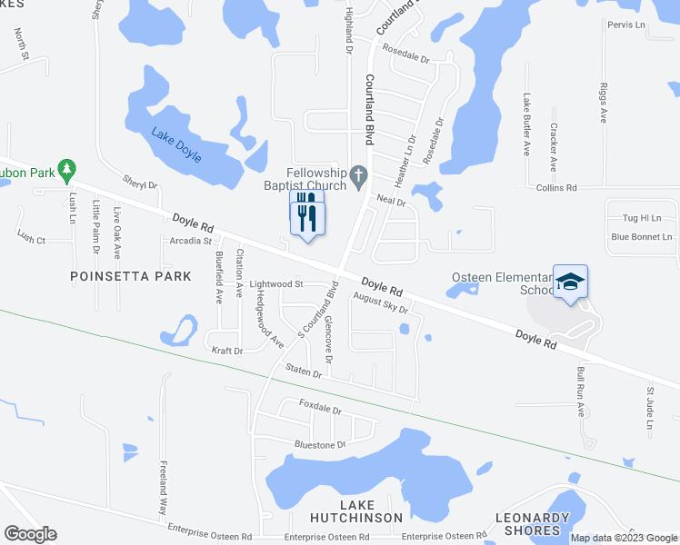 Doyle Rd & S Courtland Blvd, Deltona FL - Walk Score
