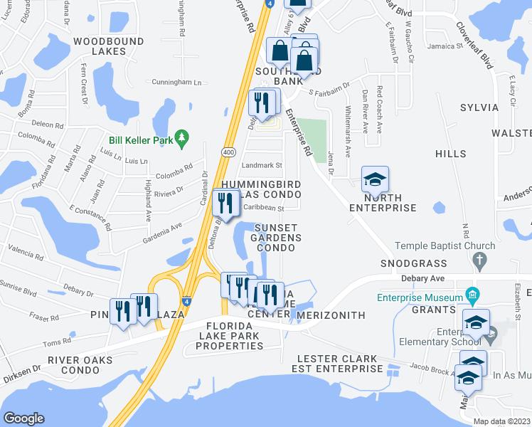 590 Belltower Avenue, Deltona FL - Walk Score