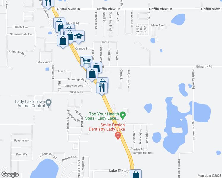 735 S U.S. Highway 441, Lady Lake FL - Walk Score