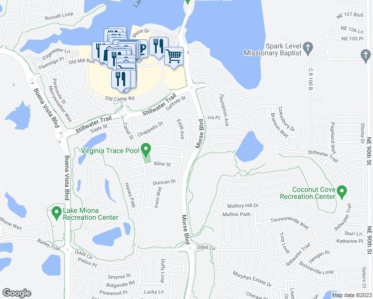 Coconut Cove Florida Map.Villages Florida Map