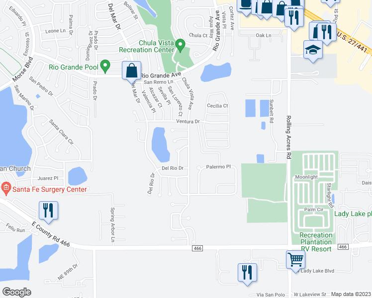 315 Gonzales Place, Lady Lake FL - Walk Score