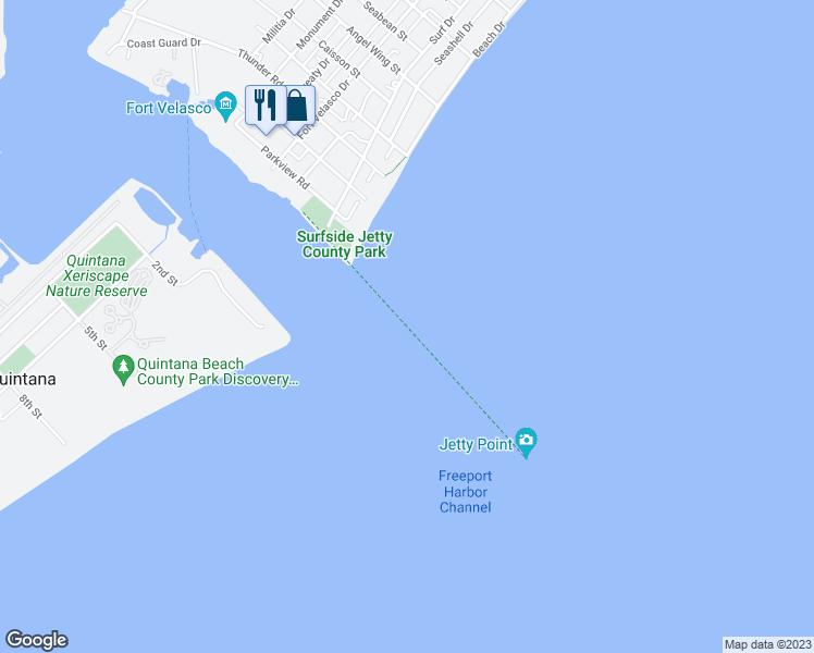 Surfside Vykruta Jetty Trail Surfside Beach Tx Walk Score