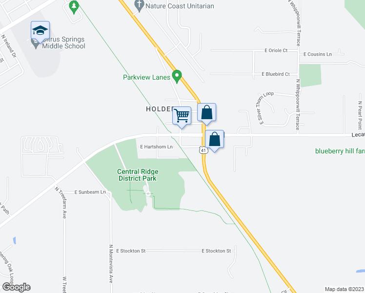 Hernando Florida Map.901 East Hartshorn Lane Hernando Fl Walk Score