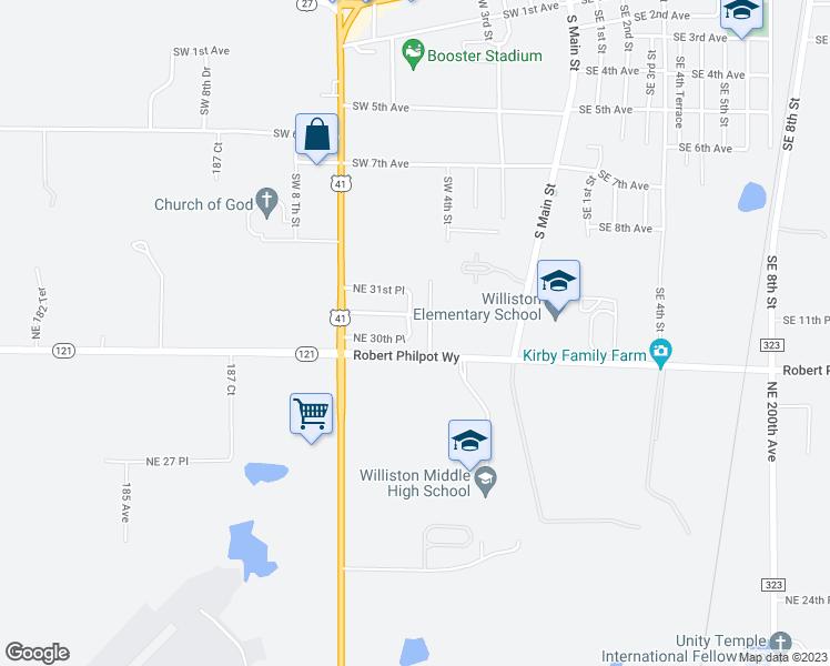 Williston Florida Map.19171 Northeast 30th Place Williston Fl Walk Score