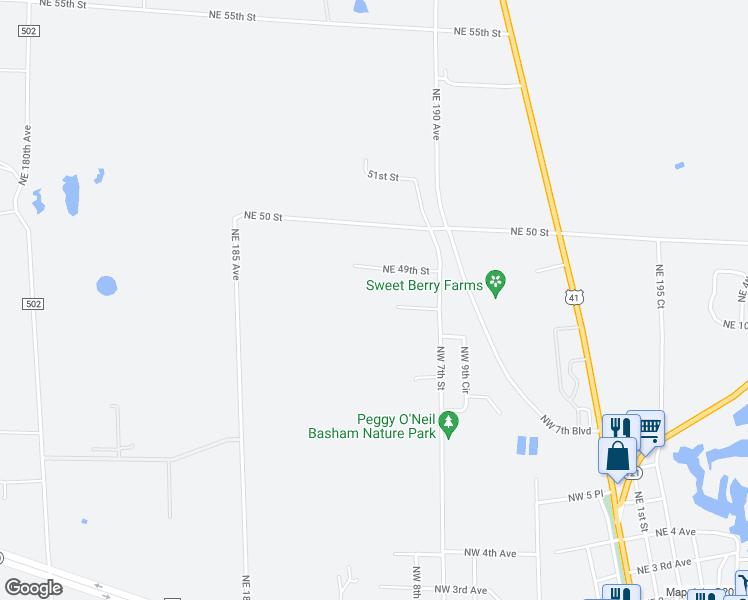 Williston Florida Map.18850 Northeast 49th Street Williston Fl Walk Score