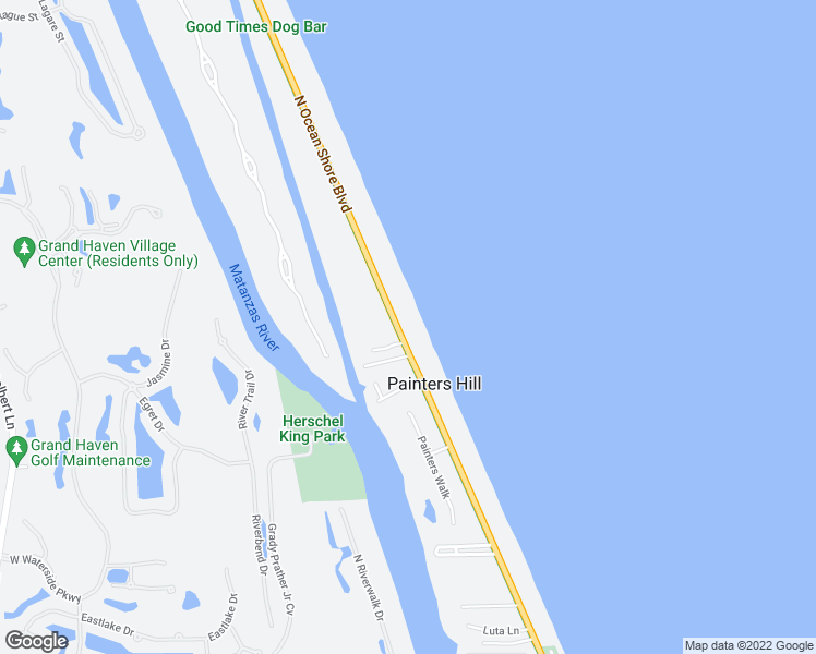 3167 North Oceans Boulevard, Flagler Beach FL - Walk Score on