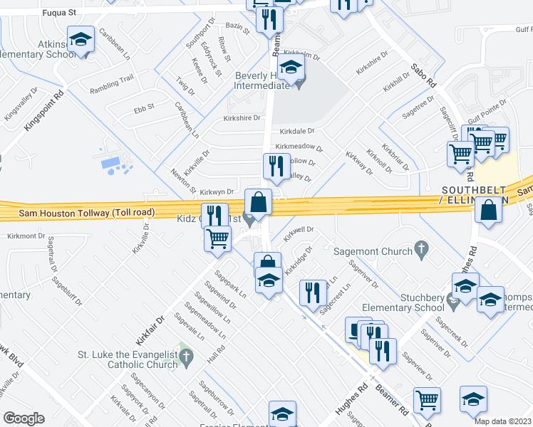 Texas 8 Beltway & Beamer Road, Houston TX - Walk Score