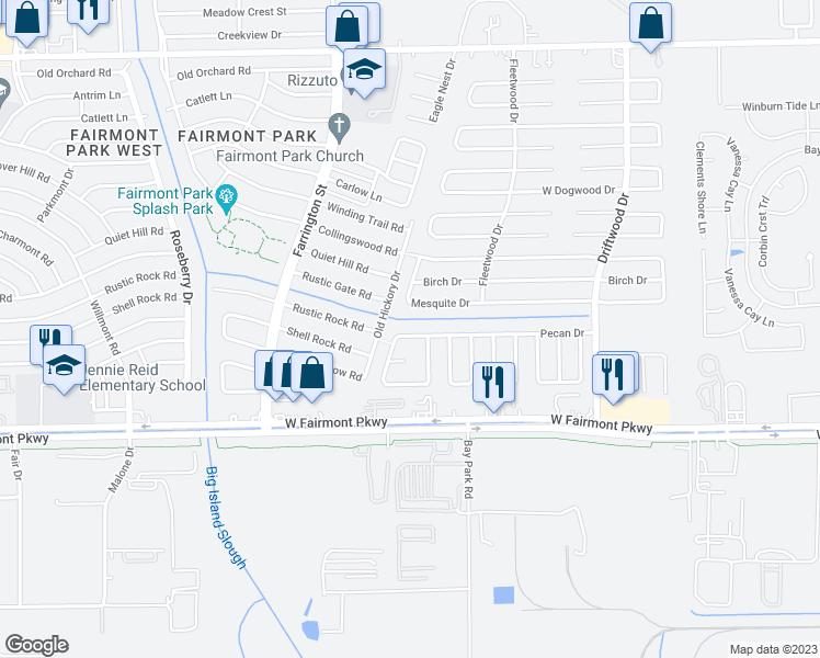 3871 pecan circle la porte tx walk score for Laporte texas map