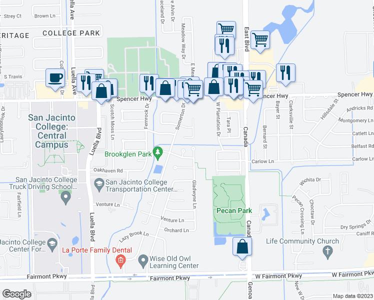 3307 ashwyne court la porte tx walk score for Laporte texas map