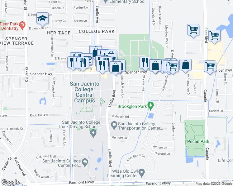 3331 luella boulevard la porte tx walk score for Laporte texas map