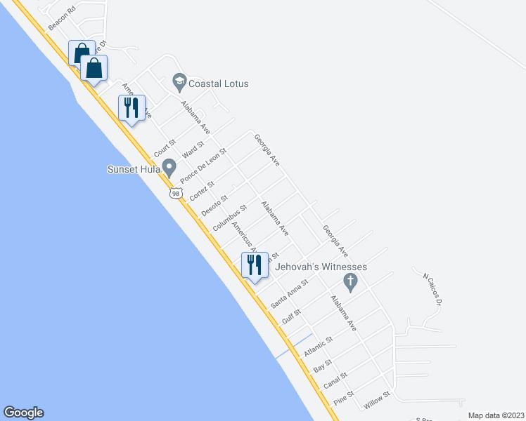 Port St Joe Florida Map.259 Coronado Street Port Saint Joe Fl Walk Score