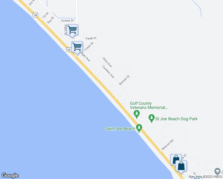 St Joe Florida Map.9120 Wentletrap Avenue Port Saint Joe Fl Walk Score