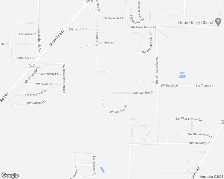 Map Of Lake City Florida.491 Southwest Lamboy Circle Lake City Fl Walk Score