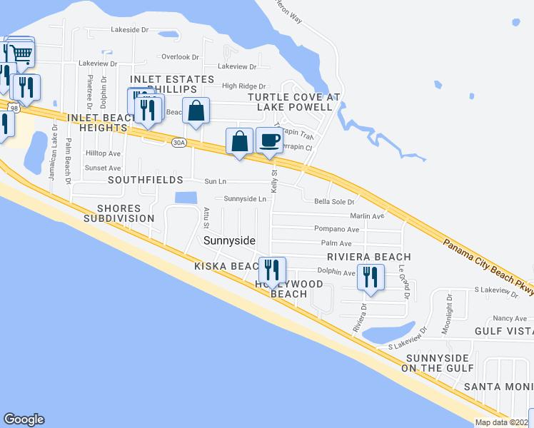 Map Of Restaurants Bars Coffee S Grocery Ore Near 419