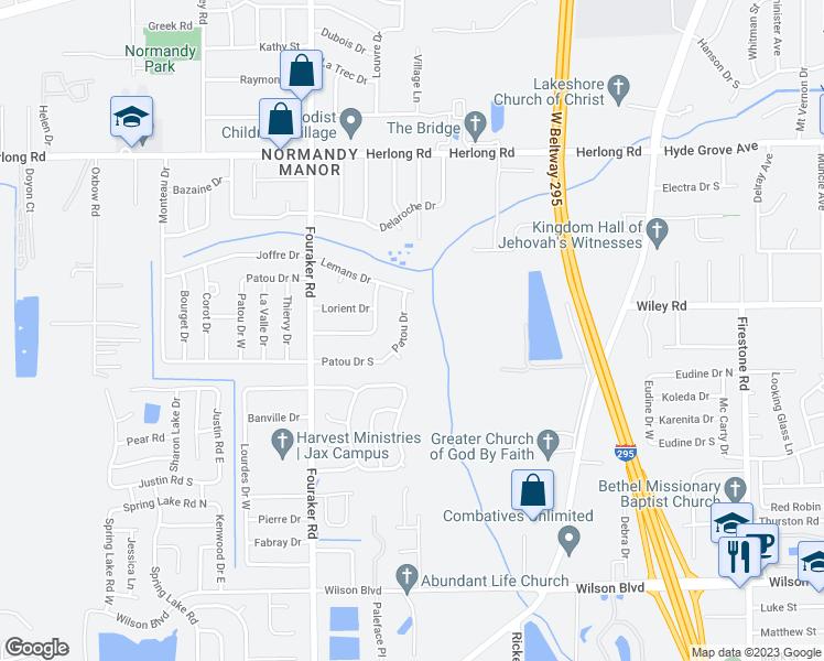 2221 Patou Drive, Jacksonville FL - Walk Score
