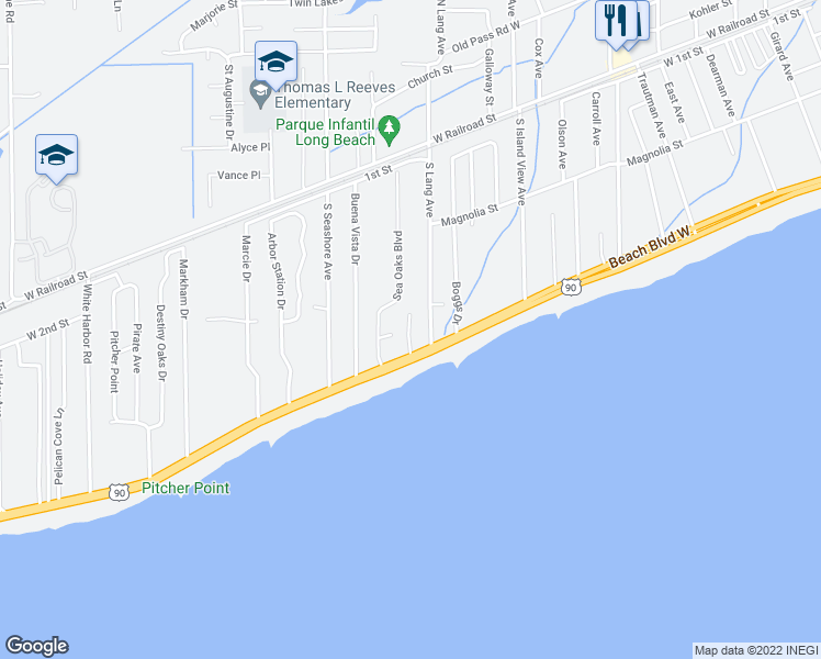 718 West Beach Boulevard Biloxi Ms Walk Score
