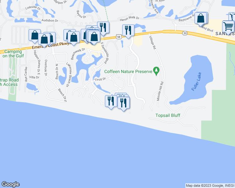 5000 South Sandestin Boulevard, Miramar Beach FL - Walk Score