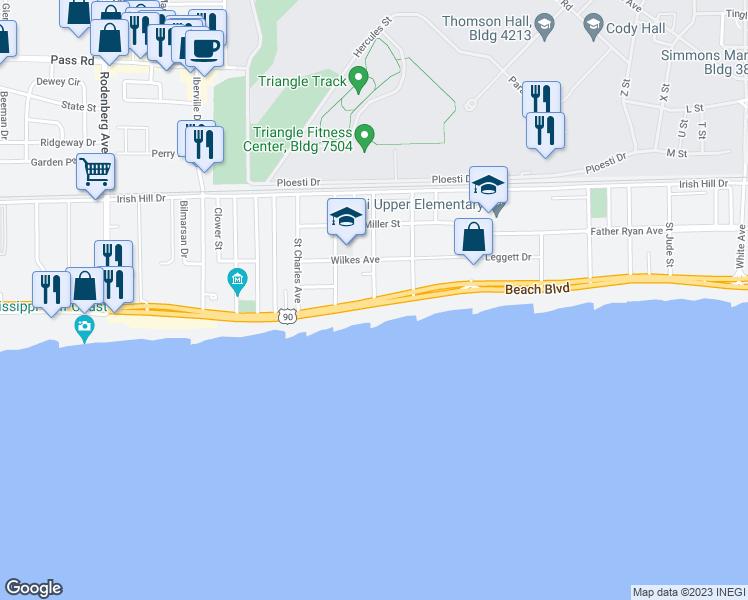Beach Blvd St George Ave Biloxi Ms Walk Score