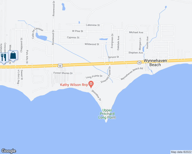 Map Of Mary Esther Florida.113 Long Pointe Drive Mary Esther Fl Walk Score