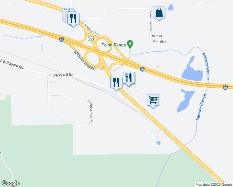Midway Florida Map.2380 East Brickyard Road Midway Fl Walk Score
