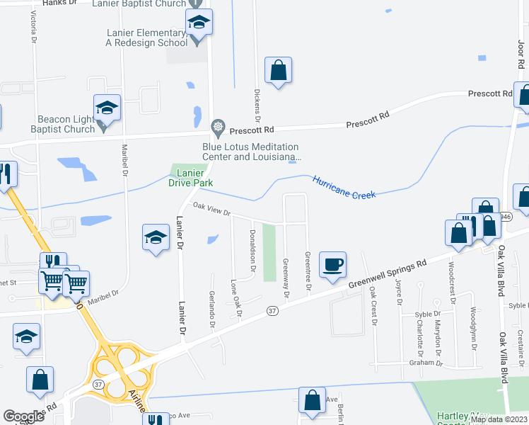8227 Oak View Drive, Baton Rouge LA - Walk Score