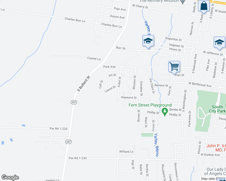 Opelousas Louisiana Map.1511 Taft Street Opelousas La Walk Score