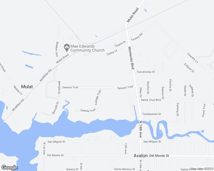 Milton Florida Map.5112 Seneca Trail Milton Fl Walk Score