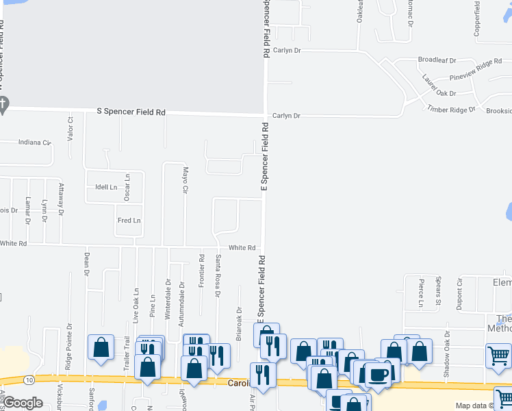 Pace Florida Map.4865 East Spencer Field Road Pace Fl Walk Score