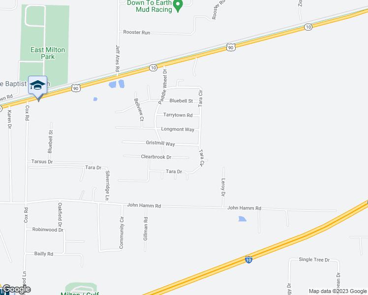 Milton Florida Map.8943 Gristmill Way Milton Fl Walk Score