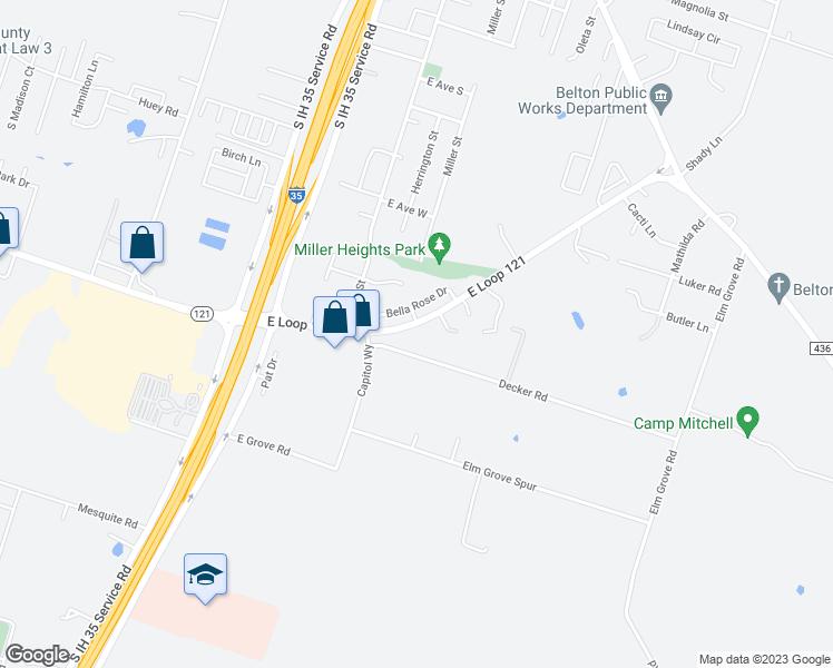 414 East Loop 121, Belton TX - Walk Score