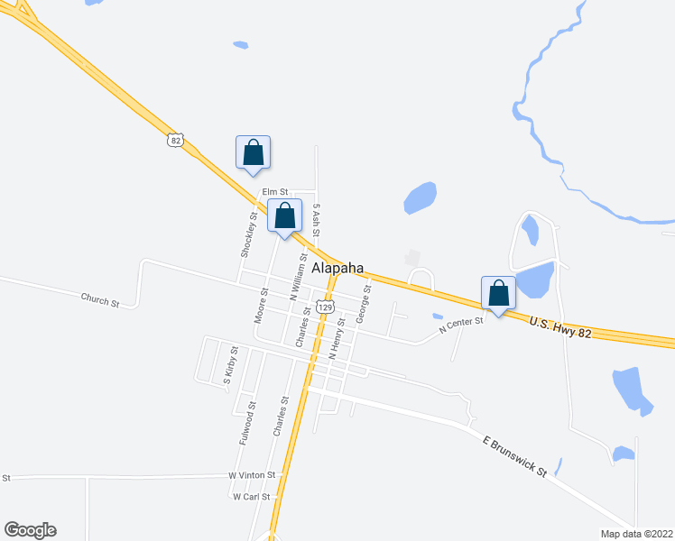 map of restaurants, bars, coffee shops, grocery stores, and more near in Alapaha