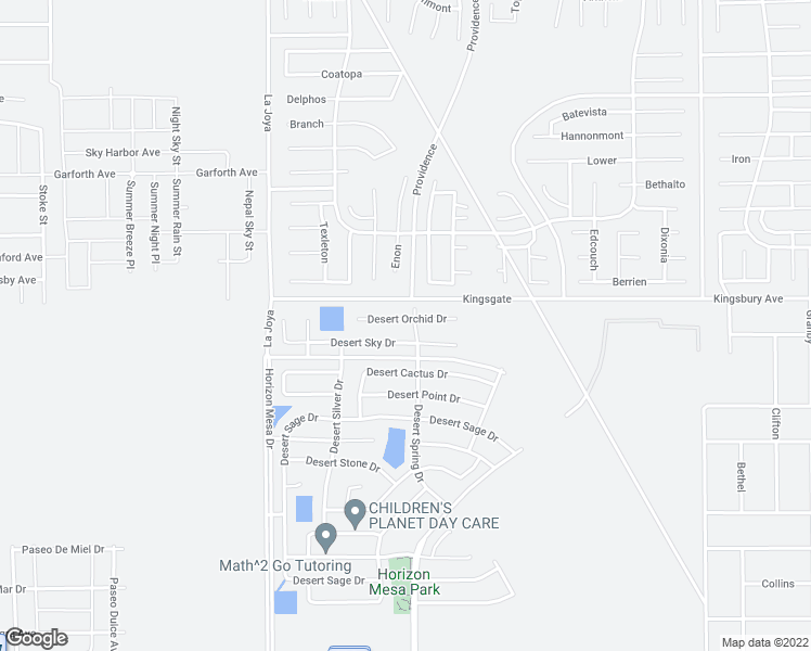 map of restaurants, bars, coffee shops, grocery stores, and more near 14288 Desert Orchid Drive in Horizon City