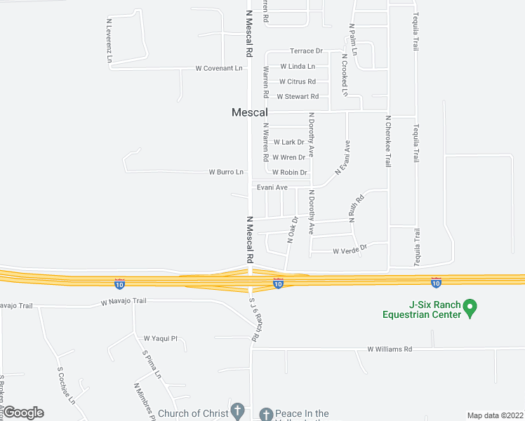 map of restaurants, bars, coffee shops, grocery stores, and more near 182 North Warren Road in Benson