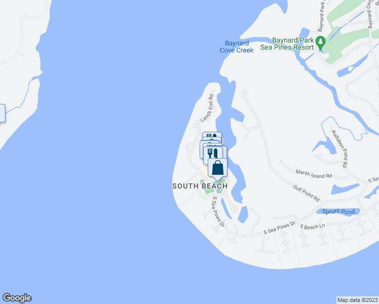 247 South Sea Pines Drive, Hilton Head Island SC - Walk Score on hilton head resort map, hilton head neighborhood map, beaufort map, st. james plantation map, channelside district map,