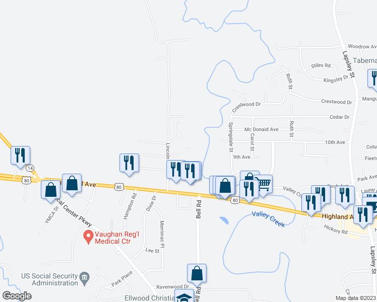 3202 Lincoln Drive, Selma AL - Walk Score