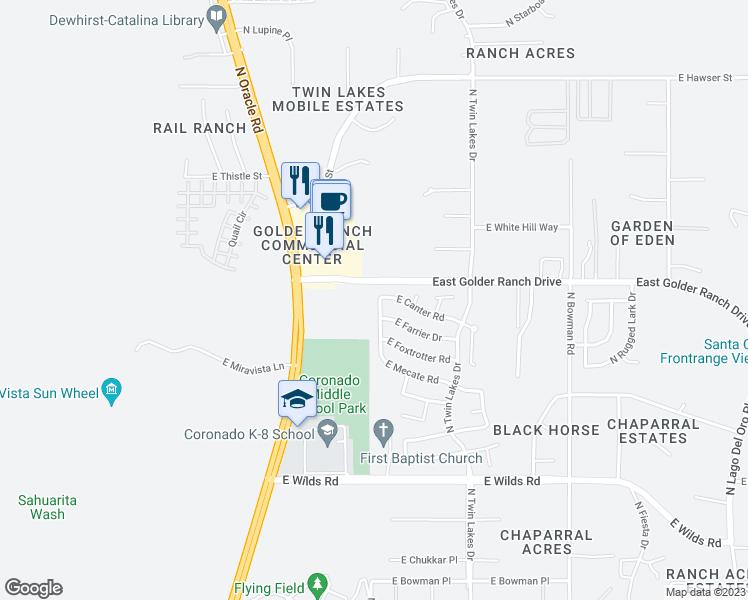 Map Of Arizona 1858.15163 North Cutler Drive Tucson Az Walk Score