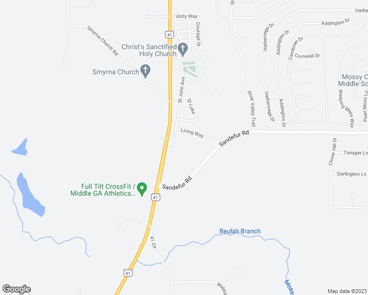 Map Of Highway 41 In Georgia.2470 Us Highway 41 North Fort Valley Ga Walk Score