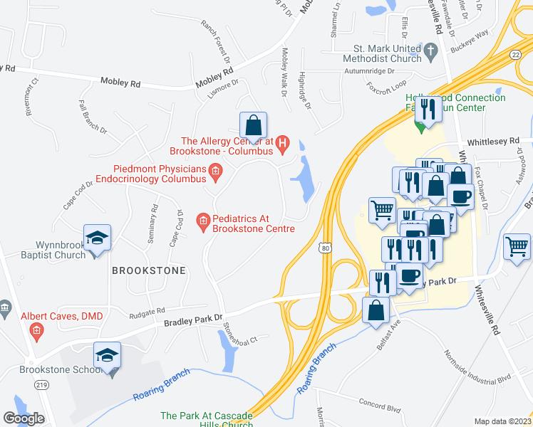 900 Brookstone Centre Parkway, Columbus GA - Walk Score