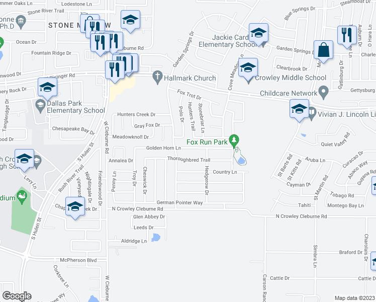 Map Of Restaurants Bars Coffee S Grocery Ore Near 4009
