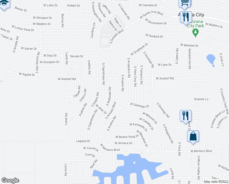 14654 South Amado Boulevard, Arizona City AZ   Walk Score