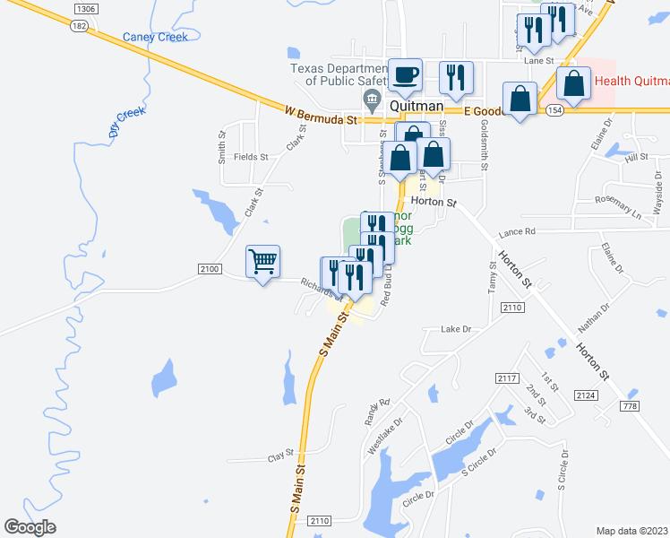 Map Of Quitman Tx.704 Mcallister Street Quitman Tx Walk Score