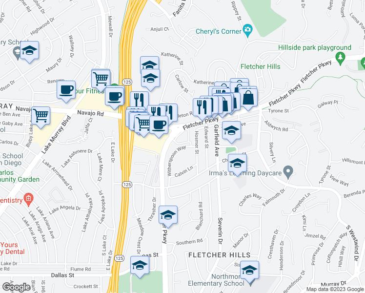 2675 Fletcher Parkway, El Cajon CA - Walk Score on