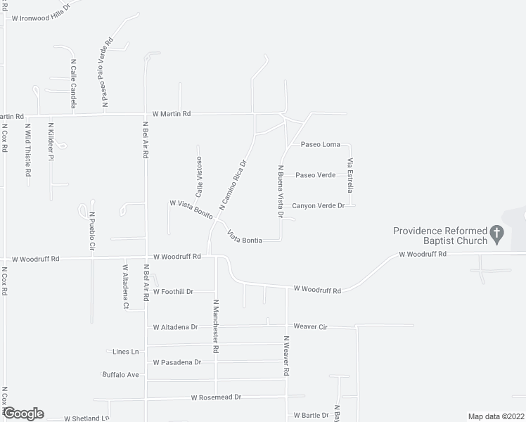map of restaurants, bars, coffee shops, grocery stores, and more near 8260 North Buena Vista Drive in Casa Grande