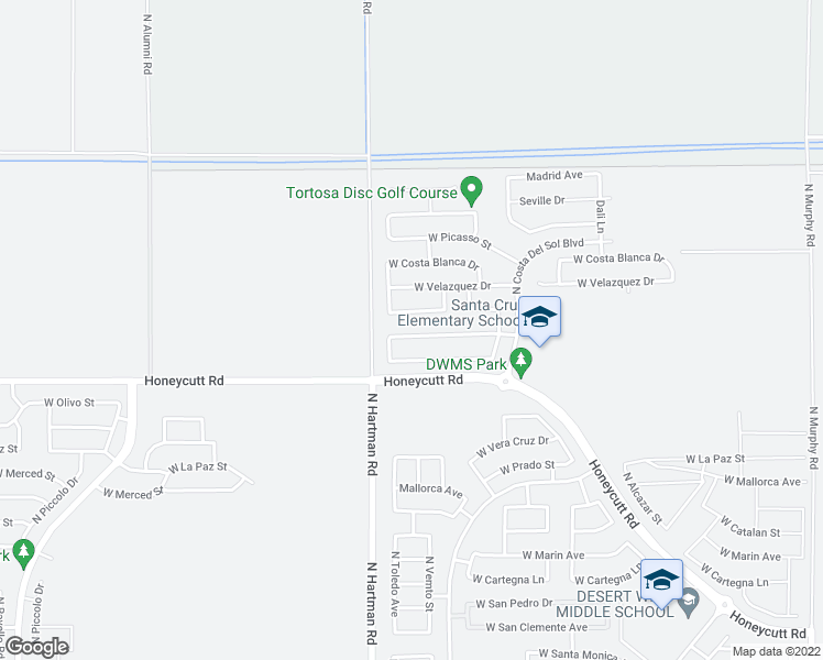 map of restaurants, bars, coffee shops, grocery stores, and more near 36568 West El Greco Street in Maricopa