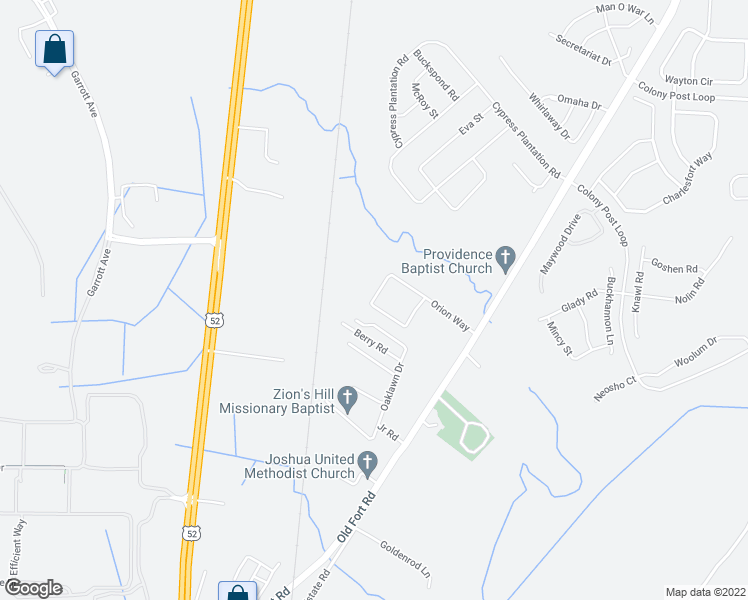 map of restaurants, bars, coffee shops, grocery stores, and more near 933 Hideaway Acres Lane in Moncks Corner