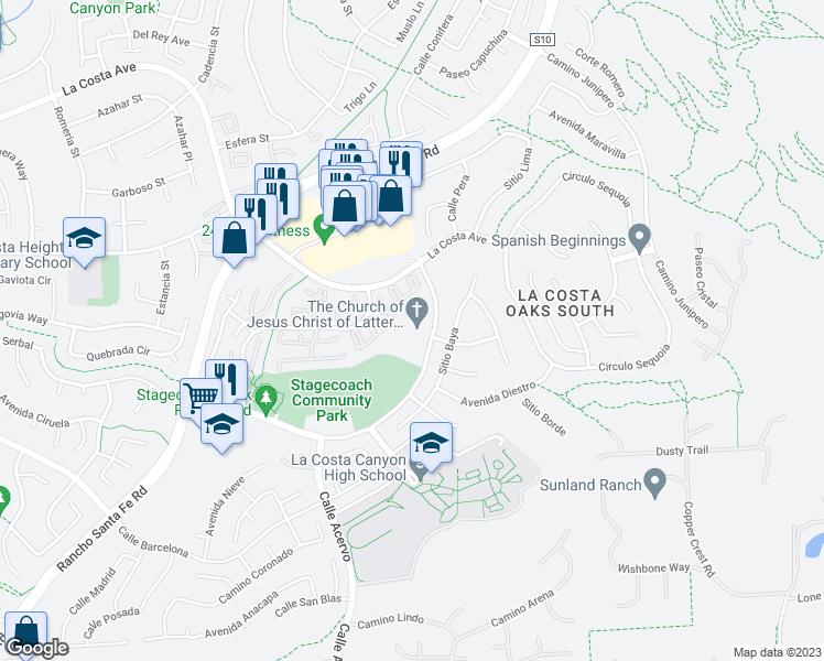 Camino De Los Coches Carlsbad CA Walk Score - Carlsbad ca map
